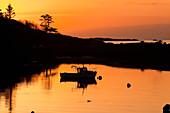 'Sunset at Rosdohan Pier, near Sneem; County Kerry, Ireland'