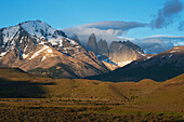 'Towers of Paine, Torres del Paine National Park; Chile'