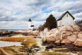 'Annisquam Lighthouse; New England, Massachusetts, United States of America'