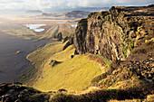 'Lunar landscape and topography, near Vik; Iceland'