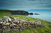 'Galley Head in West Cork on the Wild Atlantic Way coastal route; County Cork, Ireland'