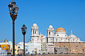 Cathedral in the historical town of Cadiz, Cadiz Province, Andalusia, Spain, Europe