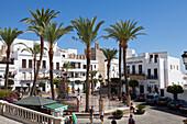 Weisses Dorf Vejer de la Frontera, Provinz Cádiz, Costa de la Luz, Andalusien, Spanien, Europa