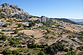 Mountains in the natural preserve of Sierra de Grazalema, Cadiz Province, Andalusia, Spain, Europe