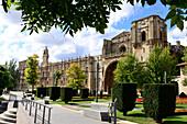 Hostal San Marcos, Leon, (camino de Santiago), Castile and Leon, north-Spain, Spain