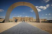 Arch, Palace of Versailles, Versailles near Paris, France
