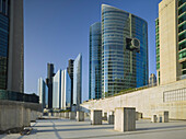 Skyscrapers on Sheikh Zayed Road, Dubai, Unites Arab Emirates, UAE