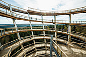 Tree top walk, Bad Wildbad, district of Calw, Black Forest, Baden-Wuerttemberg, Germany