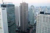 Tokio im Januar, Tokio, Japan