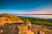 Morsum Kliff bei Sonnenuntergang, Morsum, Sylt, Nordfriesland, Schleswig-Holstein, Deutschland