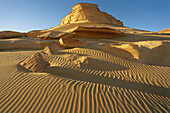 Photograph of a sand dune in the western desert of Egypt