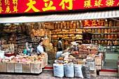 China, Hong Kong, Dried Seafood Store, Western District, Hong Kong Island