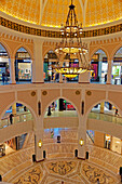 Asia, United Arab Emirates, UAE, Dubai, Mall, Dubai Mall, candlestick, shopping levels, detail, shopping centre, building, construction, Inside, people, persons, place of interest, tourism, architecture, shops, traditional,