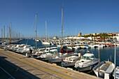 Puerto de Sa Rapita Torre de Sa Rapita s XVI Migjorn Campos Mallorca Balearic Islands Spain