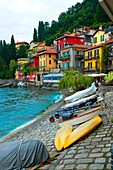 Varenna Lake Como Italy Lombardy IT EU Europe.