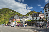 The picturesque village of Beilstein, Rhineland-Palatinate, Germany, Europe