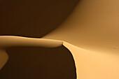 Dunes in Oued Tin Tarabine. Tassili Ahaggar. Sahara desert. Algeria.