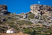 Greece, Crete  Greek Orthodox Chapel at Falassarna