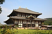 Todaiji Temple, Nara, Japan  The world famous Todaiji Temple designated as world heritage contains various pavilions and halls including many designated as national treasures of Japan Among them the Daibutsuden Hall is the world s largest wooden structure