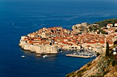 Dubrovnik, one of the most popular tourist destinations on the Adriatic, Croatia, UNESCO