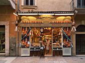 Delicatessen store, Verona, Veneto, Italy