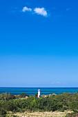 Puerto Rico, West Coast, Rincon, Punta Higuero Lighthouse.