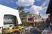 USA, California, Los Angeles, West Hollywood, The Grove outdoor mall.