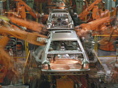 Assembly, Assembly Line, Automation, Automobile, Body, Car, Economy, Europe, European, Factory, Fitting, German, Germany, Hi_Tec