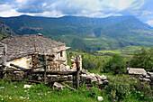 Albania, Balkans, Central Europe, Eastern Europe, European, Southern Europe, travel destinations, Mountain, mountains, mount, mounts, Stegopull, district Gjirokaster, house, houses