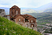 Albania, Balkans, Central Europe, Eastern Europe, European, Southern Europe, travel destinations, architecture, Citadel, St. Trinity church, 14th century, Berat