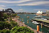 Sydney, Australia, New South Wales, Sydney Harbour, Sydney Harbour_Bridge, Skyline, Opernhaus, Opera House, tourist_attraction, The Rocks, Circular Quay, James Cook, city