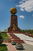 Downtown, Independence Square, Mother, Tashkent, Uzbekistan, Central Asia, Asia, architecture, colourful, happy, monument, park, touristic, travel