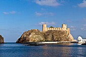 The Al Jalali fort facing the Gulf of Oman in Muscat, Oman