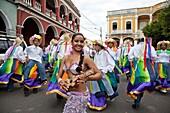 Poetry Festival and Carneval Parade, Festival International de Poesia, Granada, Nicaragua