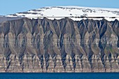 Scenic views of in the Svalbard Archipelago of Norway