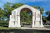 Roman site Les Antiques of Glanum, Saint-Remy-de-Provence, Provence, France
