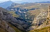 Añisclo Canyon - Ordesa National Park and Monte Perdido - Ordesa Valley - Province of Huesca - Aragón Pyrenees - Pyrenees - Sobrarbe - Aragon - Spain - Europe