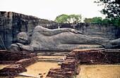 Reclining Buddha, Gal Vihara, Polonnaruwa, Sri Lanka