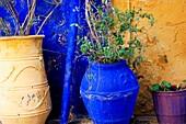 Greece, Crete  Three Flowerpots, Chania Old Town