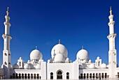 United Arab Emirates, Abu Dhabi, Sheikh Zayed bin Sultan al-Nahyan Mosque,