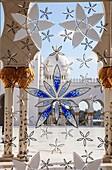 United Arab Emirates, Abu Dhabi, Sheikh Zayed bin Sultan al-Nahyan Mosque, interior,