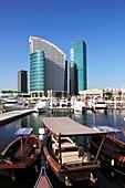 United Arab Emirates, Dubai, Festival City, InterContinental Hotel,