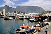 South Africa Western Cape Cape Town Table Mountain Victoria Alfred Waterfront