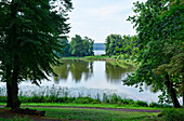 Petzow Castle Grounds, Havel, Municipality of Schwielowsee, Brandenburg, Germany