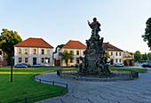 Kurfuerstendenkmal memorial, Rathenow, Brandenburg, Germany