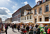 Secondhand Market, Jaegerstrasse, Potsdam, Brandenburg, Germany
