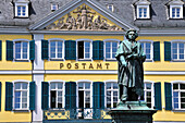 Architecture, Beethoven, Bonn, monument, Germany, Europe, front view, prince´s mountain, composer, art, art, history, Münster place, postal office,H44-10906710 - © - Allgöwer Walter
