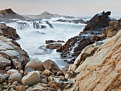 Sandstone, Salt Point State Park, Sonoma Coast, California, USA