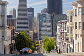Montgomery Street, Transamerica Pyramid, Telegraph Hill, San Francisco, California