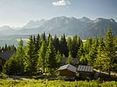 Dachstein, house in Enns Valley, Styria, Austria